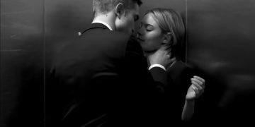 Camille Rowe & Robert Pattinson for Dior 'The Elevator' Ad